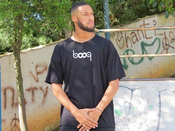 Camiseta Booq Preta - Wordmif
