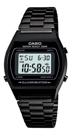 Relógio Casio Unissex Vintage B640wb 1adf Preto Digital