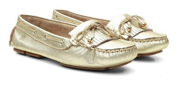 Mocassim Mulher Sapato Baixo Couro Varias Cores Promocional