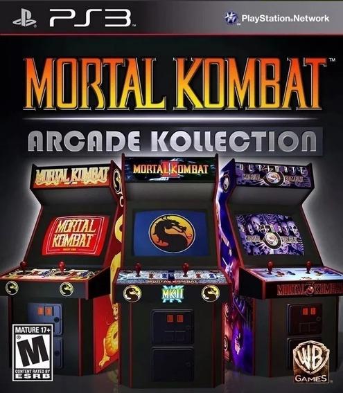 Mortal Kombat Arcade Kollection Ps3 Psn Jogo Em Promoção