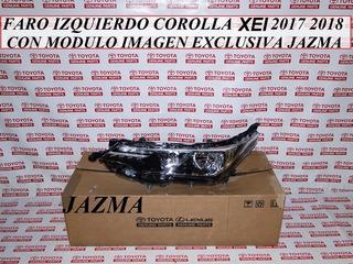 Faro Izquierdo Corolla Xei 2017 2018 Original Toyota