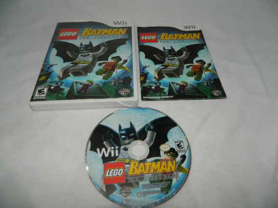 Lego Batman The Video Game Original Nintendo Wii - Completo