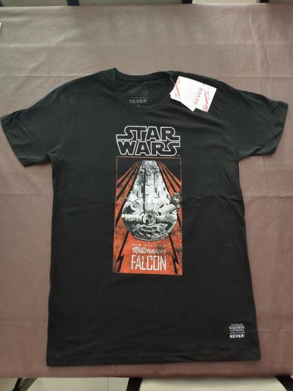 Remera Rever Star Wars Halcon Milenario Original