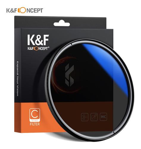 K&f Concept 62mm Ultra Slim Cpl Filtro Óptica Multi Revestid