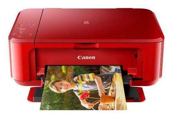 Multifuncional Canon Pixma Wifi Mg3610 Red Wifi Duplex