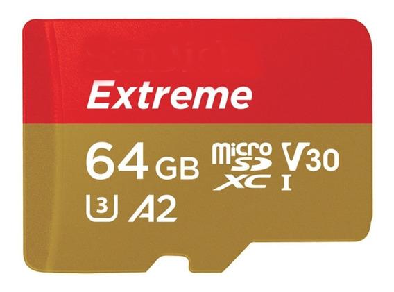 Cartao Memoria Micro Sdxc 160mb/s 64gb Video 4k Gopro Hero6