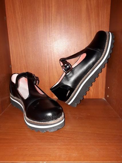 Zapatos Zapatillas Plataforma Mujer