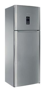 Heladera no frost Ariston ENTF 19121 F (AG) acero inoxidable con freezer 457L 220V