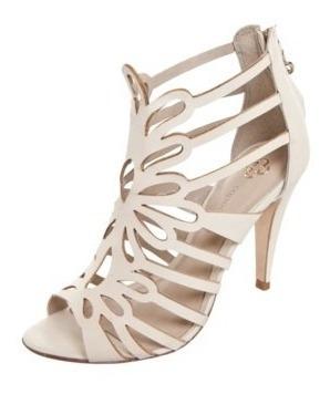 Sandália Salto Capodarte Fashion Off White