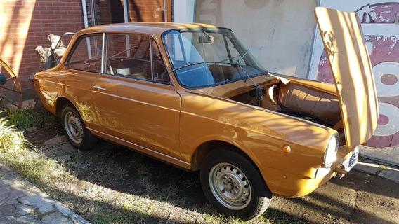 Fiat 800 Coupe Restaurada Papeles Al Dia Motor 0km