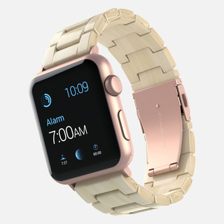 Pulseira De Resina Madrepérola Para Apple Watch 42/44 Mm