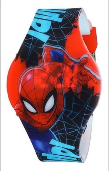 Reloj Spiderman Man Led Jr Plano Original Marvel 2