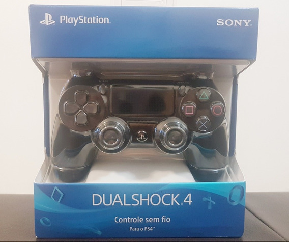 Controle Dualshock Jet Preto - Ps4