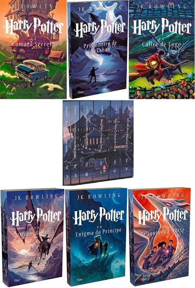 Coleção Harry Potter Livros 2 Ao 7. Acompanha O Box Original