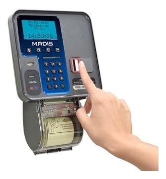 Relógio De Ponto Biometrico Wifi
