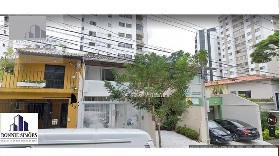 Sobrado Comercial Para Locação, Moema, 5 Salas, 2 Banheiros, 120 M², São Paulo. - So0250