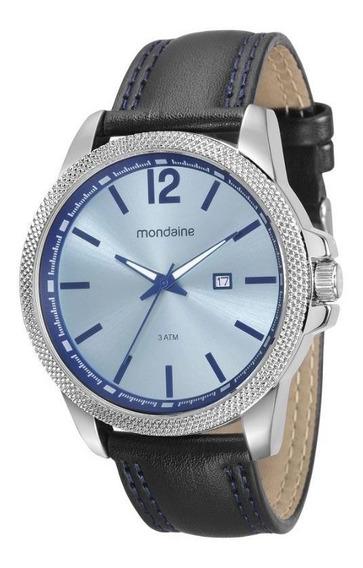 Relógio Mondaine Feixo Couro Masculino Adulto 94980g0mvnh1