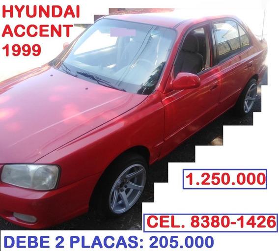 Hyundai Accent 1999 - Manual- Debe 2 March...1.250.000