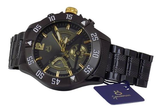 Relógio De Pulso Masculino Original Preto