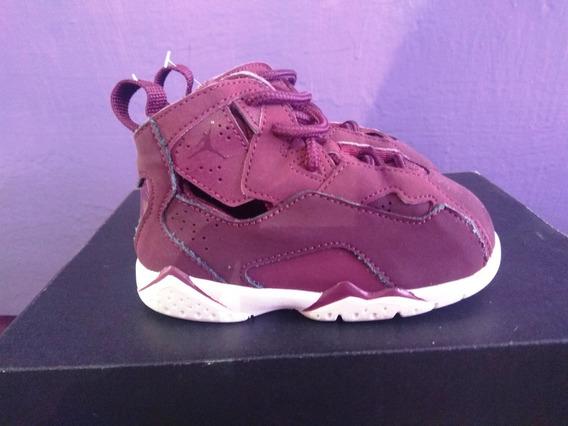 Air Jordan True Flight Bordeaux Purple 12 Cm