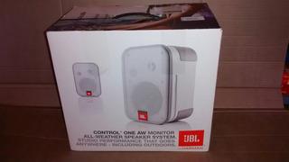 Jbl Control One Aw White (blancos) Outdoor, Igual A Nuevos!!