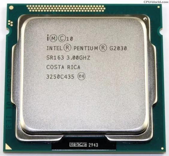 Processador Pentium G2030 Dualcore Socket1155 3ghz S/ Cooler