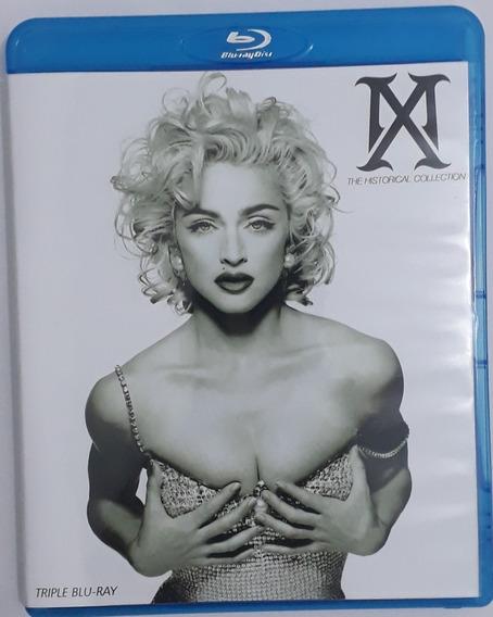 * Madonna Historical Collection Bluray Triplo - Frete Grátis