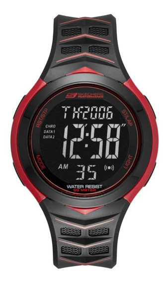 Reloj Unisex Skechers Anderson Sr1083 Color Negro