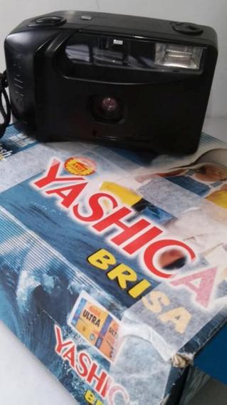 Camera Yashica Brisa Kyocera Com Manual E Caixa Colecionador