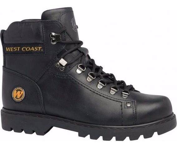 Bota Coturno West Coast Worker 5790 Couro Legítimo Original