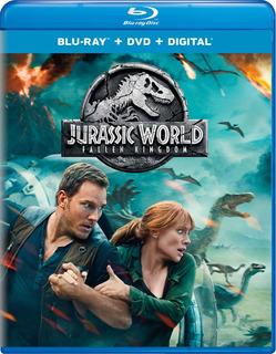 Blu-ray : Jurassic World: Fallen Kingdom (with Dvd, Digi...