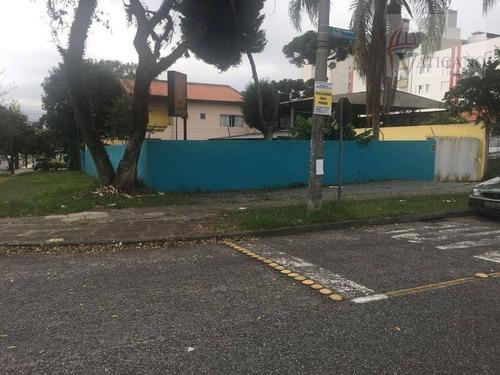 Terreno À Venda, 480 M² Por R$ 990.000,00 - Vila Izabel - Curitiba/pr - Te0059