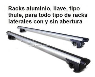 Racks Barras De Techo En Aluminio, Tipo Thule, Con Llave