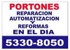 Automatizacion Reparacion Portones Levadizo Corrediz Service