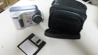 Câmera Sony Digital Mavica Mvc-fd100 + Bolsa Couro