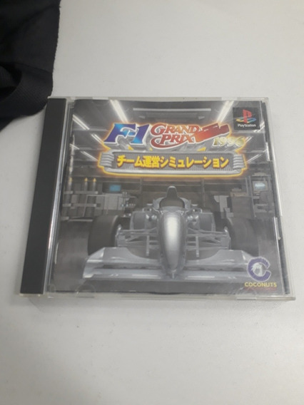 F1 Grand Prix Japones Ps1 Original Campinas