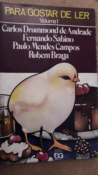 Para Gostar De Ler 1 Carlos Drummond