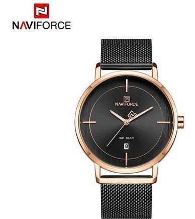 Relógio Feminino Naviforce 3009 Inox Frete Grátis 12xs/juros