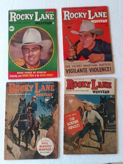Coleção De 49 Gibis Rocky Lane Americanos Ano 1950\1953