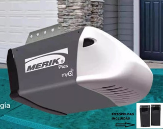 Motor 411 Plus Para Automatización De Puertas De Garaje