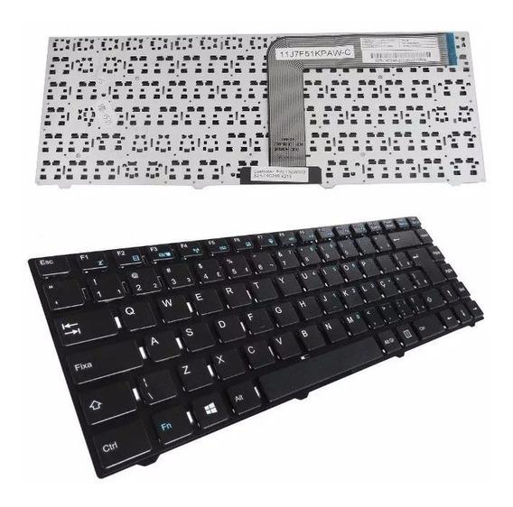 Teclado Para Notebook Hp Compaq Cq23 Cq-23 Br Com Ç