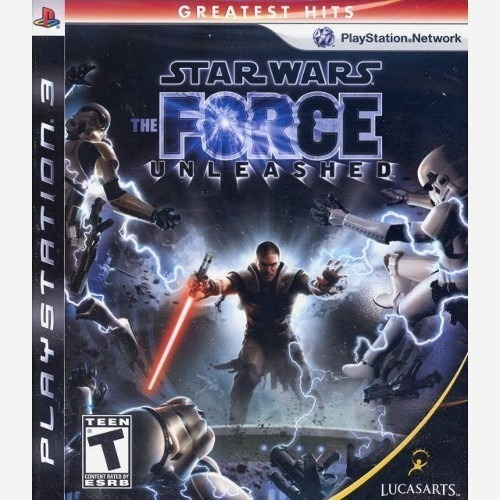 Jogo Star Wars The Force Unsleashed Ps3 Lacrado Novo