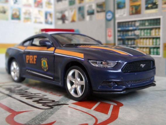 Miniatura Viatura Mustang Gt Prf Polícia Rodoviária Federal