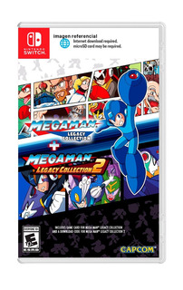 Megaman Legacy Collection 1 + 2 / Nintendo Switch