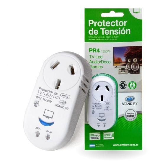 Protector De Tension Tv/audio/video Pr4 Electric Avellaneda