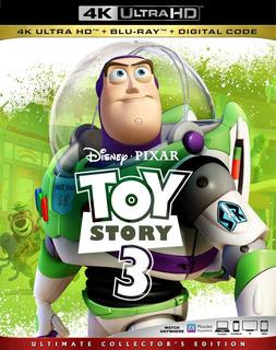 Toy Story 3 4k + Blu-ray+ Digital Hd