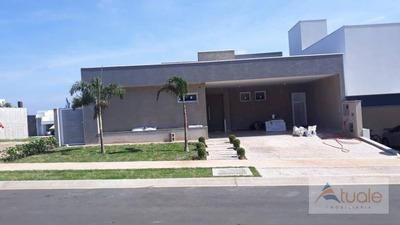 Casa Com 3 Dormitórios À Venda, 198 M² - Loteamento Parque Dos Alecrins - Campinas/sp - Ca6307