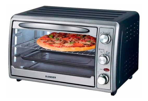 Horno Electrico Ranser He-ra40gr 1600w 40lts Pizza