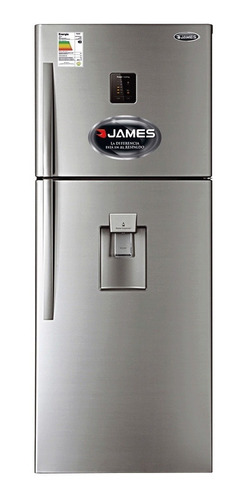 Heladeras Inverter James Jn611 Inv De Dispensador Panel Fama
