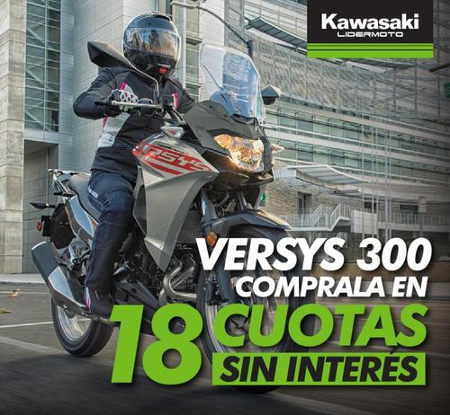 Kawasaki Versys X 300 2021 Lidermoto En Cuotas Sin Interés!